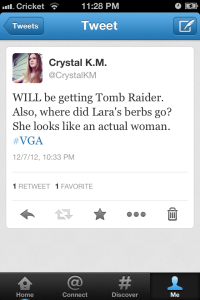 Crystal K.M. - VGA Tomb Raider