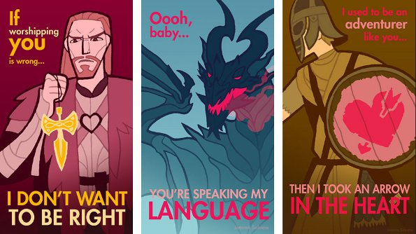 Give Your Gamer Some Valentines Love – Gamer Valentine Cards